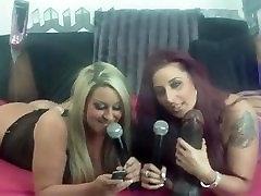 Dani Amour and Tina Love live on shebang.tv