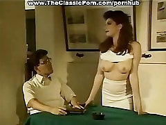Retro porn with hairy pussy creampie