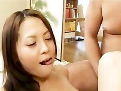 Hinayo Motoki gets creampie and cumshot