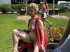 Fun at a Nudist rally 24