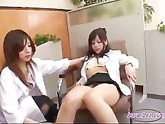 Two Doctors Lick Office Lesbian