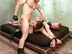 Tristan and Riley in extreme gay BDSM part1