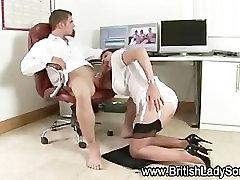 Mature slut lends helping hand