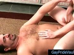 Twink sucking gay bear with pierced nipple part5