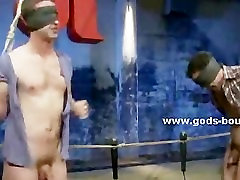 Gay man gets his ass fucked and his throat abused by his slave th