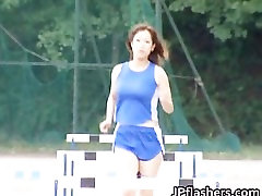 Real real asian amateur in nude track part6