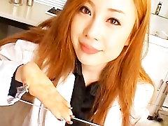 Aymu steamy real real asian nurse part5