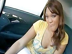 Sexy Ebony Riding Big White Cock