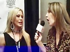 Amber Lynn Classic Veteran Porn Star Interviewed at the AVN Awards