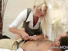 MOM MILF with big tits has multiple orgasms