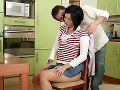 Russian Schoolgirls Anal Lessons 4 scene 4