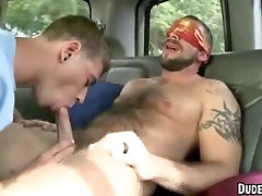 This sexy hunk is straight and gets sucked off by a stud