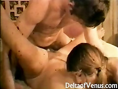 Vintage Porn 1970s - Hairy Teen Threesome