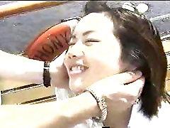 Asian Blowjob in Boat Bathroom