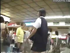 Subway Hidden Camera Upskirt Panties