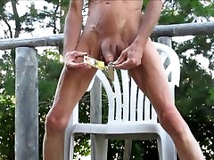 CBT Outdoors - Cock and Balls Torture and Pain for Penis and Balls