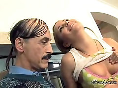Kelly Bends Over For Some Tongue And Pussy Action