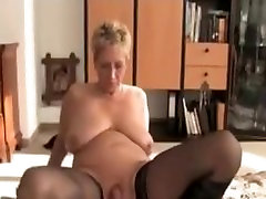 German Mature Still Fucks Good