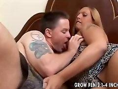 Beautiful big tits blonde BBW loves to fuck