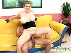 Big Ass Chubby Babe Fucked On Her Big Boobs