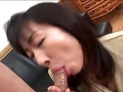 GREAT MILF Asian Blowjob