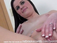 Nervous and Shy Teen Doing First Time Naked Video