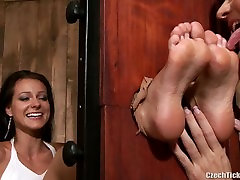 melissa tickled licked