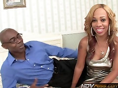 Ebony Hottie Melrose Foxxx Deepthroats And Fucks Big Black Cock