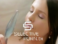 Russian Teen Anal masturbation