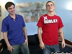 Twink sex He pulls Aarons jizz-shotgun in and out of his humid mouth,