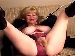 BBW Mature taping herself II