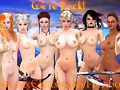 Surreal Animated Fantasy Sex Scene