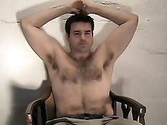 hairy armpits muscle bear