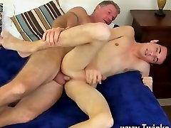 Gay twinks Brett Anderson is one fortunate daddy, hes met up with crazy