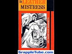 Leather mistress bdsm bondage fetish sweet torture artwork