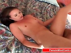 Brunette Cant Get Enough of Riding Big Dick