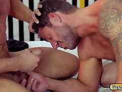 Smoking gays deep throat and anal boner