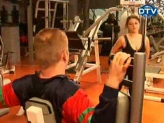 Funny video - tits in the gym