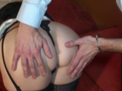 Emilie french mature fucked in nylon
