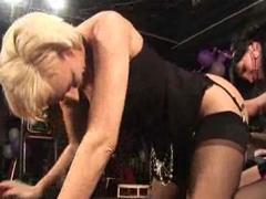 2 Mature Women 1 Guy At UK Swingers Club