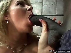 Blonde Milf Riding Black Dick And Facialed