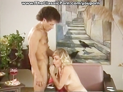 Classic porn with crazy sex at party