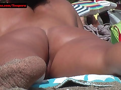 Hairy pussy Teen Nude at the beach