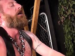 Hairy biker assdrilling bear rawly