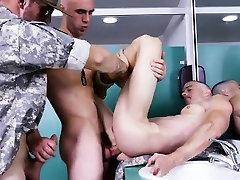 Gay military glory hole video Good Anal Training