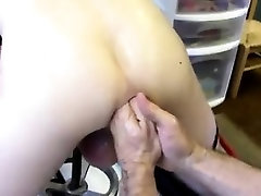 Crazy gay fisting First Time Saline Injection for Caleb