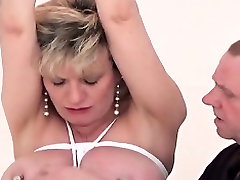 Unfaithful british mature lady sonia exposes her big tits