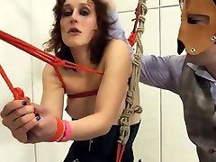 To much of rope and extreme BDSM submissive fucking