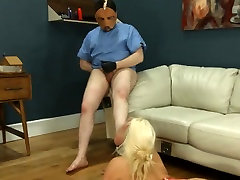 Extremely hardcore BDSM rope fucking with anal action