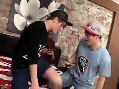Emo deep throat with facial gay Cheating Boys Threesome!